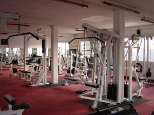 Salle de sport - machines