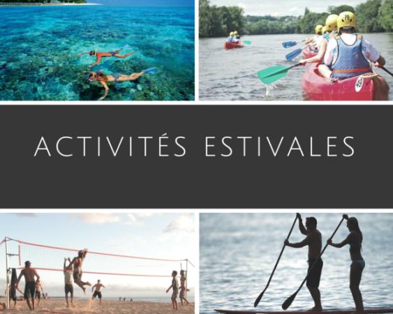 Activités estivales